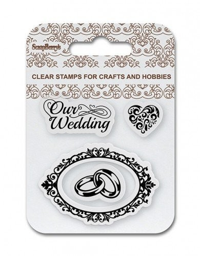 ScrapBerry`s - Clearstamp - Our Wedding - SCB4907083