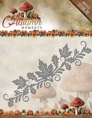Card Deco - Amy Design - Die - Autumn Moments - Leaves Border