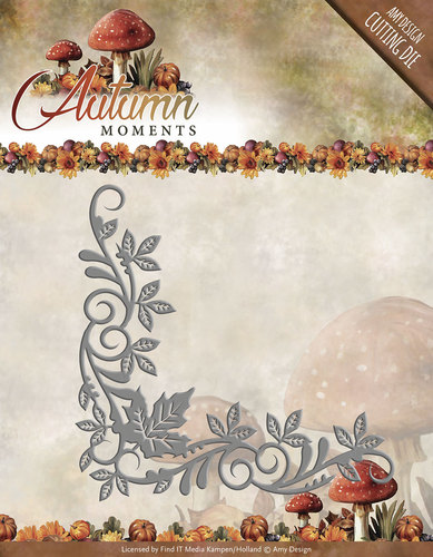 Card Deco - Amy Design - Die - Autumn Moments - Corner