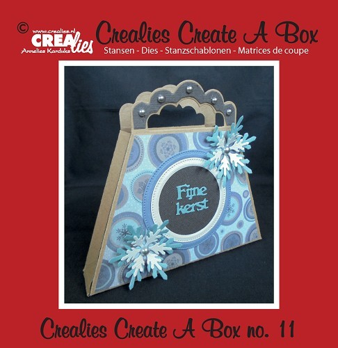 Crealies - Die - Create-A-Box - Tas - CCAB11