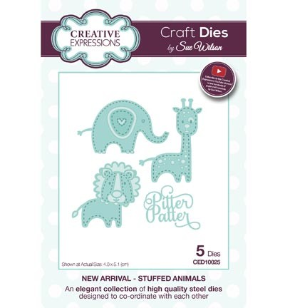 Creative Expressions - Die - The New Arrival Collection - Little Treasures