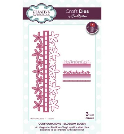 Creative Expressions - Die - The Configurations Collection - Blossom Edger
