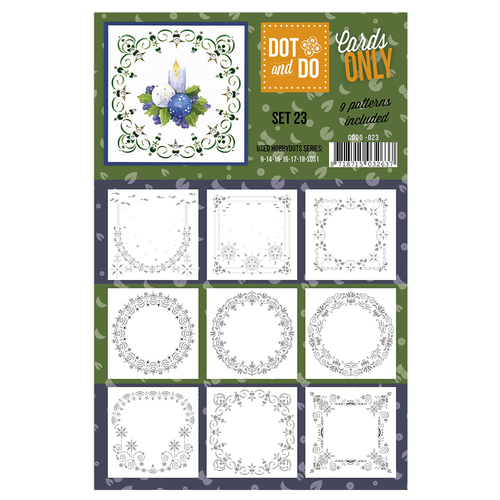 Card Deco - Oplegkaarten - Dot & Do - Cards Only - Set 23 - CODO023