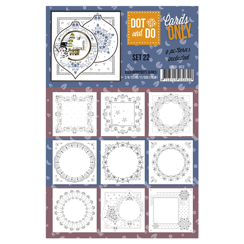 Card Deco - Oplegkaarten - Dot & Do - Cards Only - Set 22 - CODO022