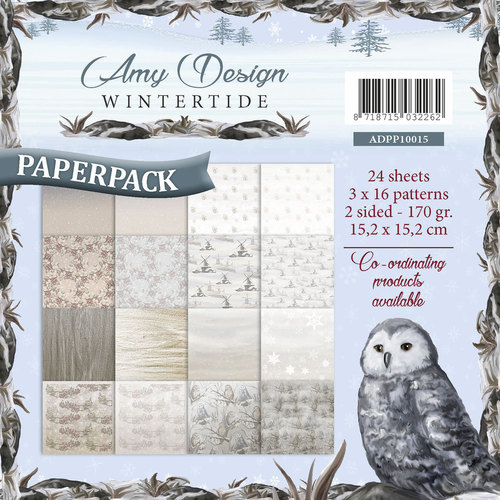 Card Deco - Amy Design - Paperpack - Wintertide