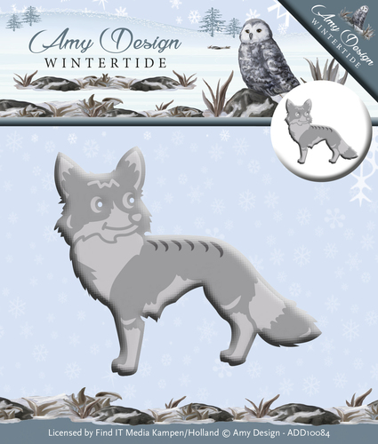 Amy Design - Die - Wintertide - Fox - ADD10084