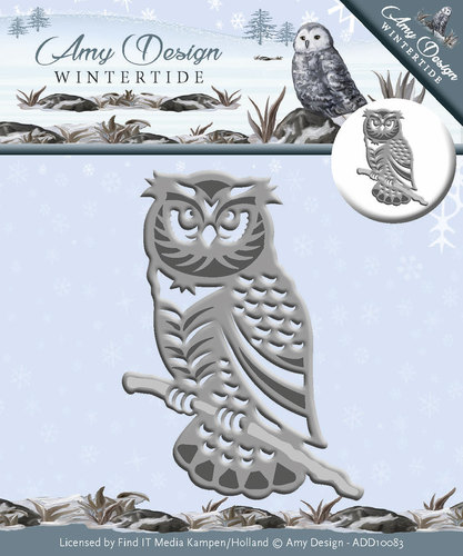 Amy Design - Die - Wintertide - Owl - ADD10083