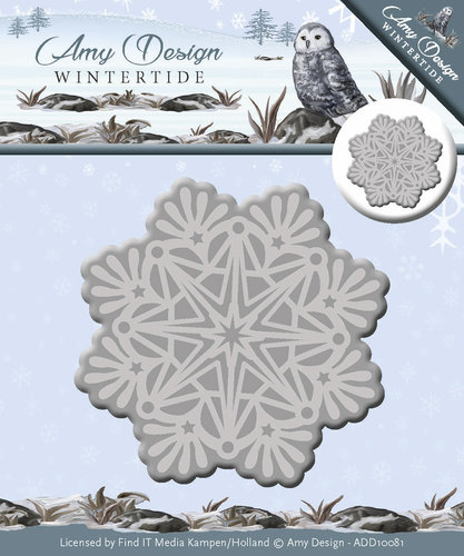 Card Deco - Amy Design - Die - Wintertide - Ice Crystal
