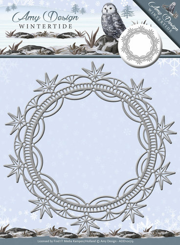 Amy Design - Die - Wintertide - Ice Crystal Frame - ADD10079