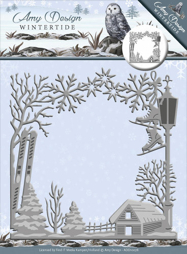Card Deco - Amy Design - Die - Wintertide - Frame - ADD10078
