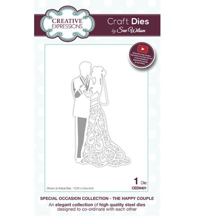 Creative Expressions - Die - The Special Occasion Collection - The Happy Couple