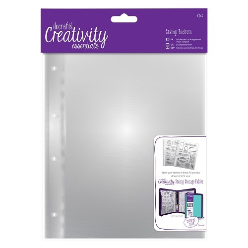 Do Crafts - Creativity Essentials - Stamp Pockets A5