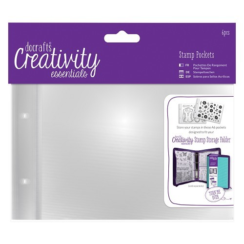 Do Crafts - Creativity Essentials - Stamp Pockets A6 - DCE105902