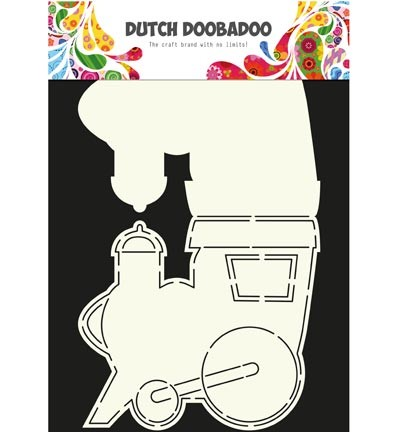 Dutch Doobadoo - Card Art - Train - 470.713.611