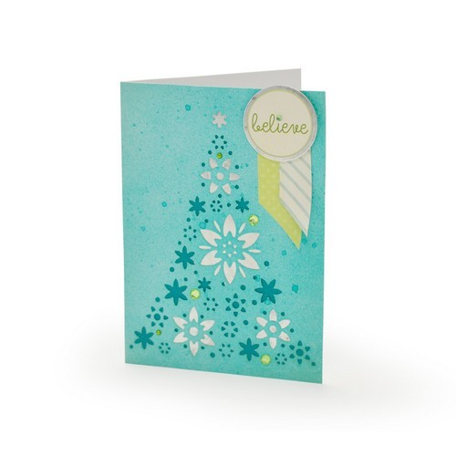 Sizzix - Die - Thinlits - Ornament Tree