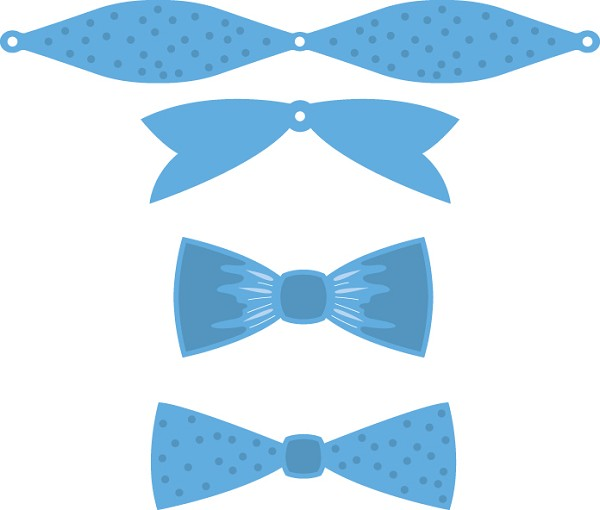 Marianne Design - Die - CreaTables - Mix & Match Bows - LR0448