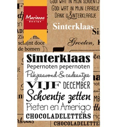 Marianne Design - Clearstamp - Sinterklaas - CS0981