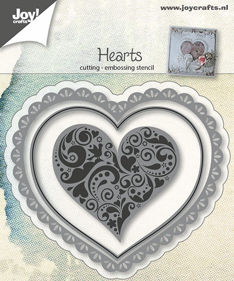 Joy! crafts - Die - Hearts