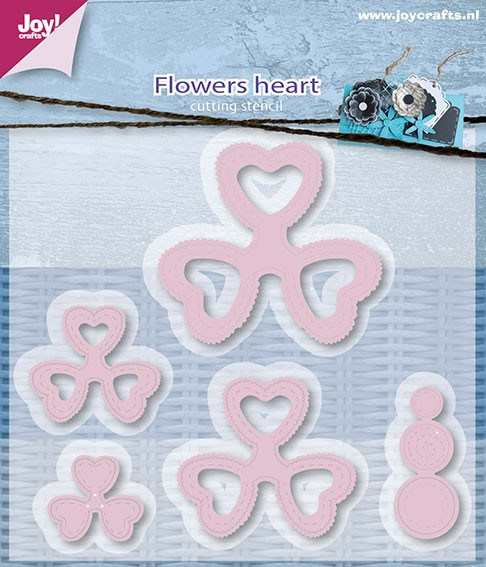 Joy! crafts - Die - Flowers Heart