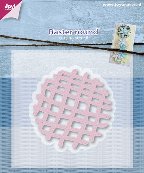 Joy! crafts - Die - Raster Round