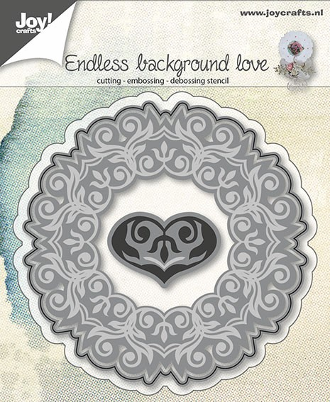 Joy! crafts - Die - Endless background Love