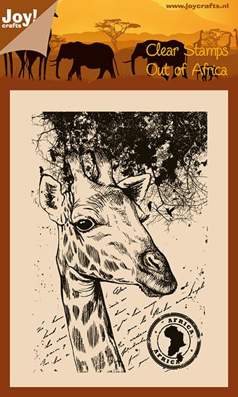 Joy! crafts - Noor! Design - Clearstamp - Out of Africa - Giraffe - 6410/0425