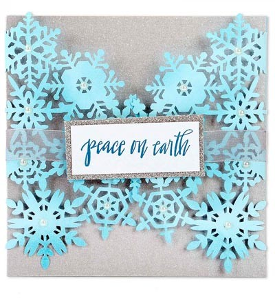 Sizzix - Die - Thinlits - Snowflake Card