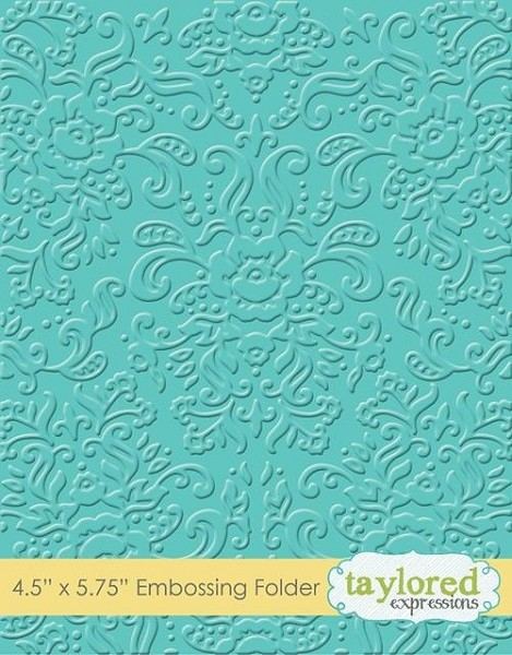 Taylored Expressions - Embossingfolder - Damask