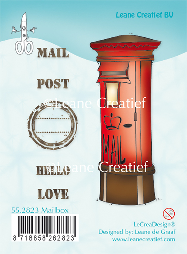 Leane Creatief - Clearstamp - Mailbox - 55.2823