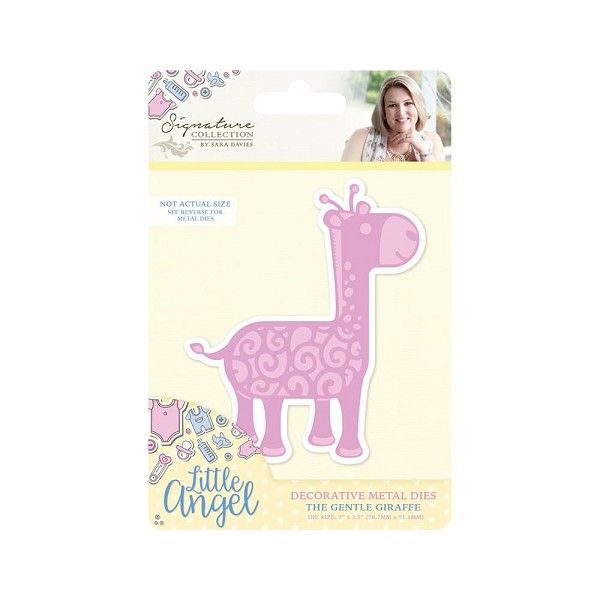 Crafter`s Companion - Sara Davies - Die - Little Angel - The Gentle Giraffe - S-LA-MD-GIR