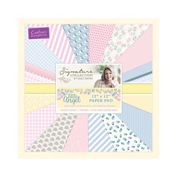 Crafter`s Companion - Paperpack - Little Angel - S-LA-PAD12
