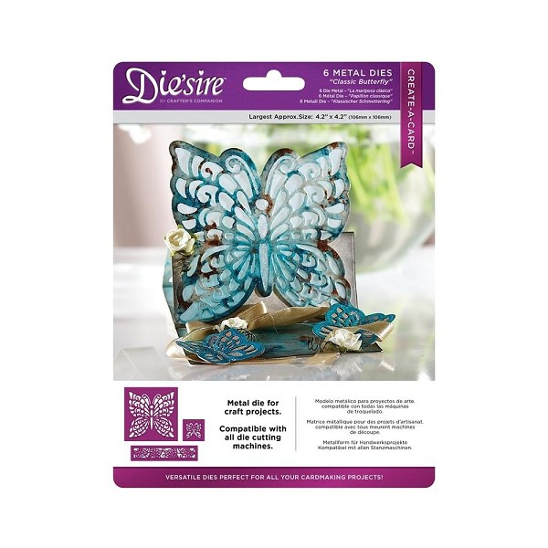 Die`sire - Die - Create-A-Card - Classic Butterfly - DS-CAD-BUT