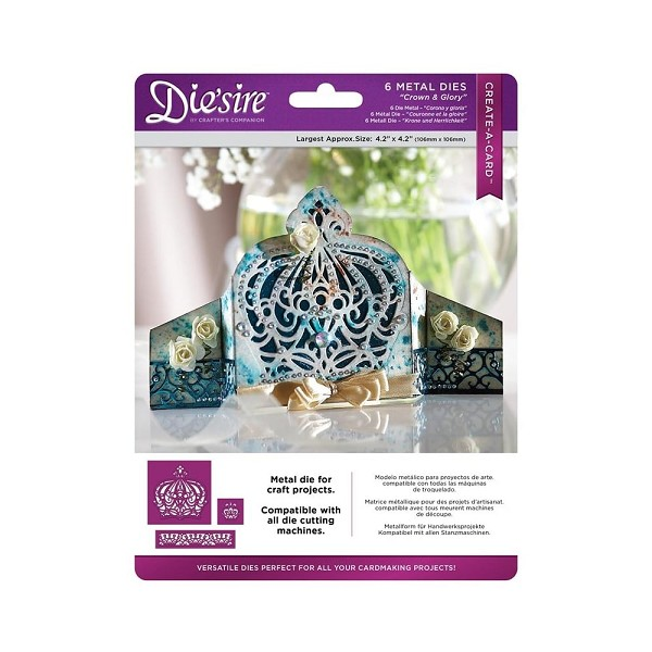 Die`sire - Die - Create-A-Card - Crown & Glory - DS-CAD-C&G