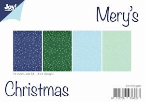 Joy! crafts - Paperset - Mery`s Christmas - 6011/0590