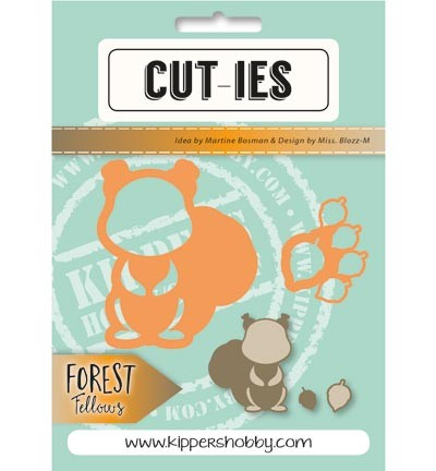 Cut-ies - Die - Forest Fellows - Squirrel Acorn