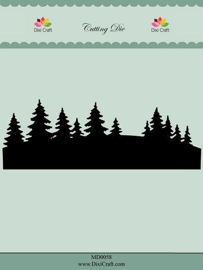 Dixi Craft - Die - Tree line - MD0058