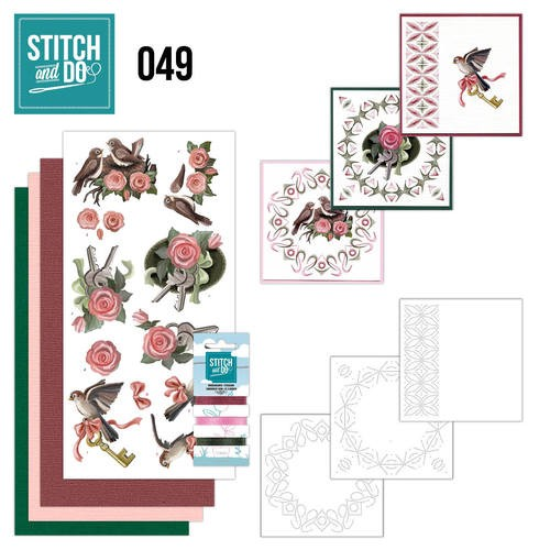 Card Deco - Kaartenpakket - Stitch & Do No. 49 - Verhuizen - STDO049