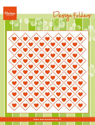 Marianne Design - Design Folder - Sweet Hearts - DF3432