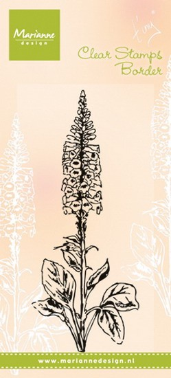 Marianne Design - Tiny`s - Clearstamp - Foxglove - TC0848