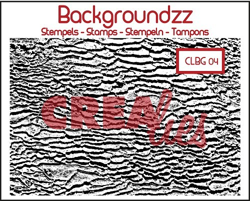 Crealies - Clearstamp - Backgroundzz - Beach - CLBG04