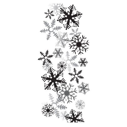 Spellbinders - Cling Stamp - It`s snowing - DSC-014