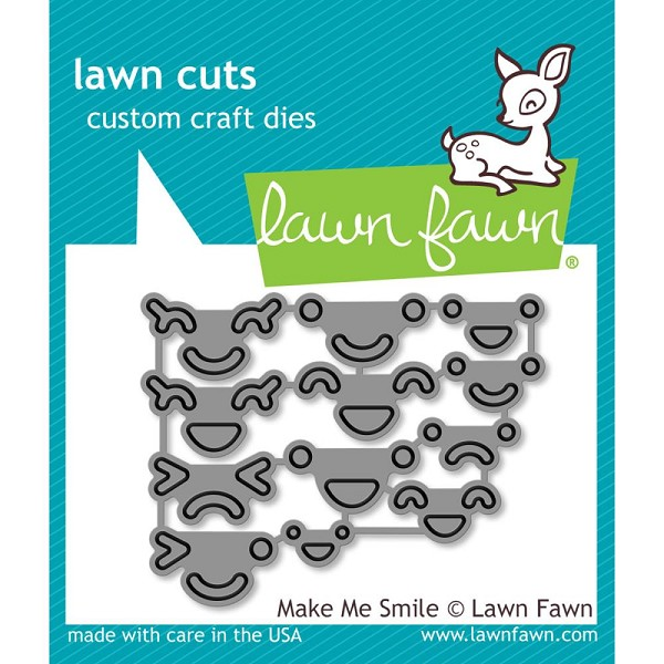 Lawn Fawn - Die - Make Me Smile - LF1184