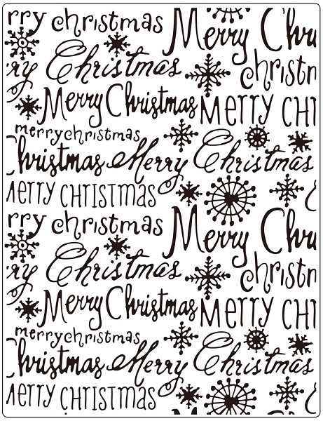 Crafts-Too - Embossingfolder - Merry Christmas - CTFD3112