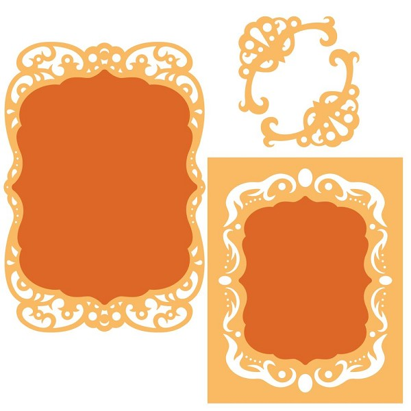 Spellbinders - Die - Nestabilities - Labels 39 - Decorative Accents