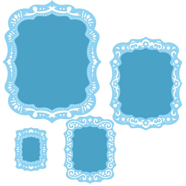 Spellbinders - Die - Nestabilities - Labels 39 - Decorative Elements