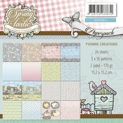 Yvonne Creations - Paperpack - Spring-tastic - YCPP10011