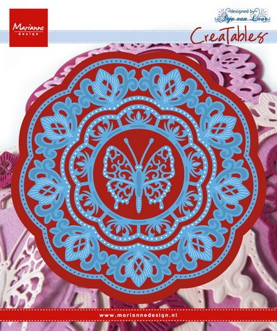 Marianne Design - Die - CreaTables - Anja`s Butterfly - LR0454
