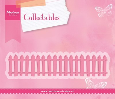 Marianne Design - Die - Collectables - White Picked Fence - COL1423