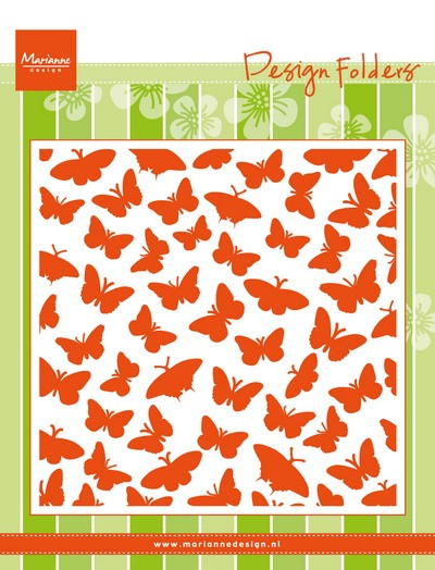 Marianne Design - Design Folder - Butterflies - DF3433
