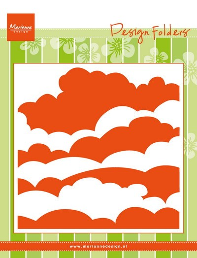 Marianne Design - Design Folder - Clouds - DF3434